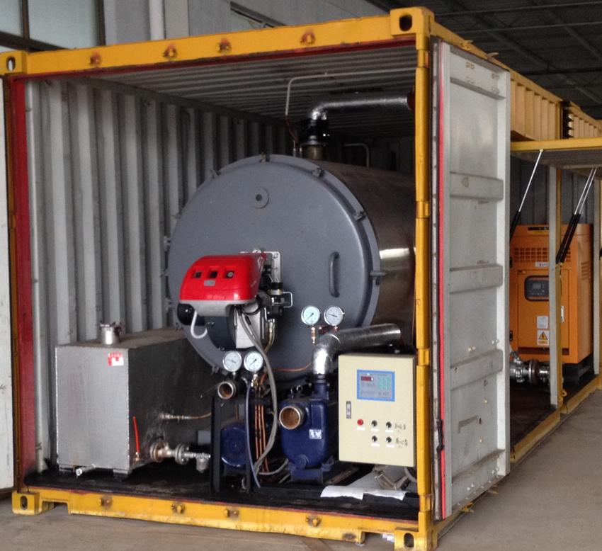 热水锅炉和循环系统